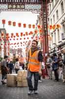 China Town Worker by TomasMascinskas