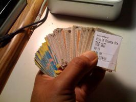 10+ Years of Movie Stubs by StephenSchaffer