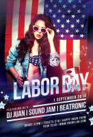 Labor Day Flyer by styleWish