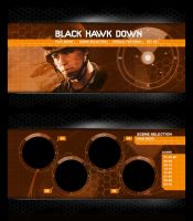 Black Hawk Down DVD menu by fredrikpj