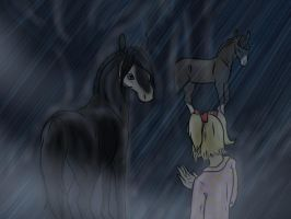 Entry (event 2): Escaped Horses and Wet Pajamas by BlueLadyAces