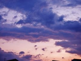 who needs silver linings when I have purple by EyeGoCrazy