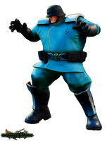AS-D Shadaloo Soldier (Street Fighter V) Render by DENDEROTTO