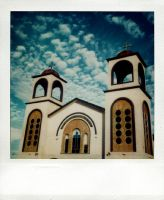polaroid church by lloydhughes
