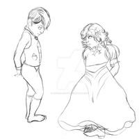 Lilly and Joseph by MissGallifrey