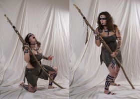 Woad Warrior  14 by lindowyn-stock
