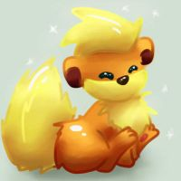 Little Growlithe by Lin00ne