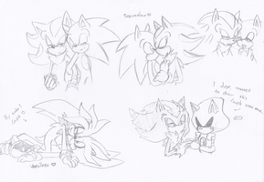 Sonic couples by UnknownSpy