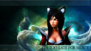 Ahri New Dawn League of Legends by Kireaki