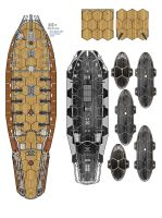 More ship plans for wargaming by Radwulf59