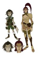some thundercats 2011 inspired original characters by KingJames06