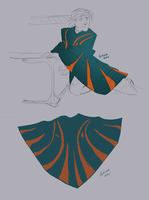 New Poncho Rough by GreekCeltic