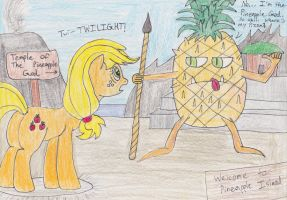 Welcome to Pineapple Island by DarkKnightWolf2011