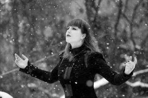 Catching snowflakes by lady-melancholy