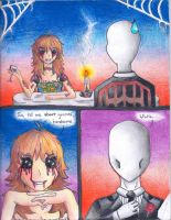 Slenderman Goes on a Date by Diamond--InTheRough