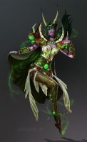 Ysera, The Dreamer by Zephyri
