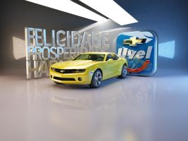 Chevrolet Camaro 3D Brusque by d2neodesigner