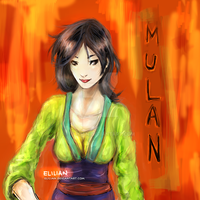 Mulan - The path we choose by Elilian