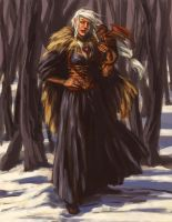 Queen in the North by andreascott