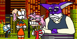SONIC HEROES FUCK YEAH 3 by wecato