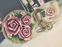 sensual roses. by a-place4my-head