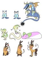 NEW POKEMON STARTERS by youlootamax