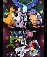 Commission: Pokemon by annria2002