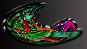 Splash Color Abstract by IRXDESIGN