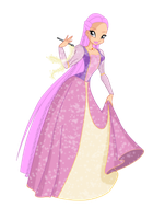 Miss magix round 2 Phoebe as Rapunzel by starfirerencarnacion