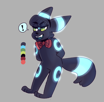 umbreon i guess by pigeonfluff