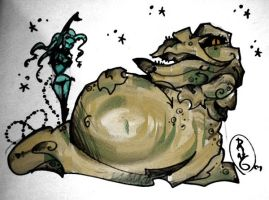 jabba color test by mrdang