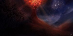 The Two Trees of Valinor by MattBurton