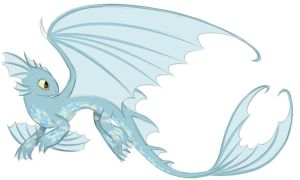 Fish Hooks Dragon OC by Cloudy-Dreamscape