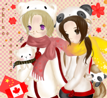 China and Canada by iCanadianBacon