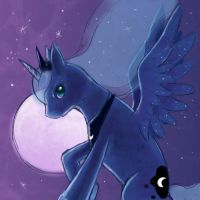 Mare of the night (LUNA) by FoxTailPegasus
