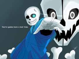You're gonna have a bad time. by gesitprasasta