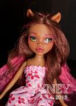 MAKE-UP 02: Clawdeen 1 by Syney