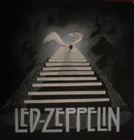 Zeppelin Stairway to Heaven by aerokay
