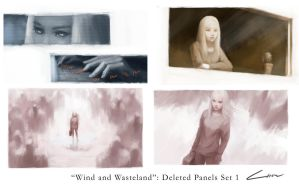 Wind and Wasteland: Deleted Panels 1 by Alex-Chow