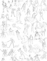 Null-Entity - Gesture Drawings by slyshand