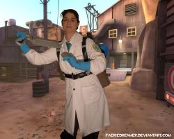 Medic 'cosplay' by Faeriedreamer