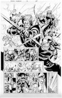 secret invasion 7 pg 20 by MarkMorales