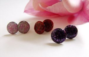 half of an inch color studs by 2littleKisses