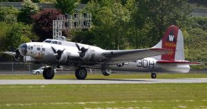 Aluminum Overcast Takeoff by shelbs2