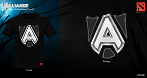 Alliance Shirt - Dota 2 by AiOrT