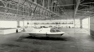 Proteus submarine in hangar - elevated view by janitor35