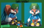Military Conker papercraft by rayman2001forever
