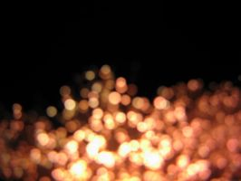 Amber Bokeh by J-Cartoons