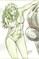 She Hulk by TeamAmazing