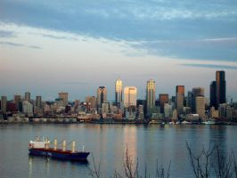 Now this is Seattle... by JoeFrazer